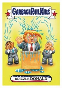 2017 Topps Garbage Pail Kids Presidential Inaug-Hurl Ceremony Cards 27