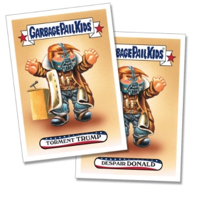 2017 Topps Garbage Pail Kids Presidential Inaug-Hurl Ceremony Cards 1