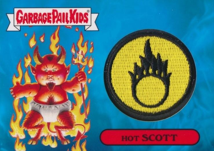 2017 Topps Garbage Pail Kids Series 1 Adam-Geddon Trading Cards 26