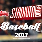 2017 Topps Stadium Club Baseball Cards
