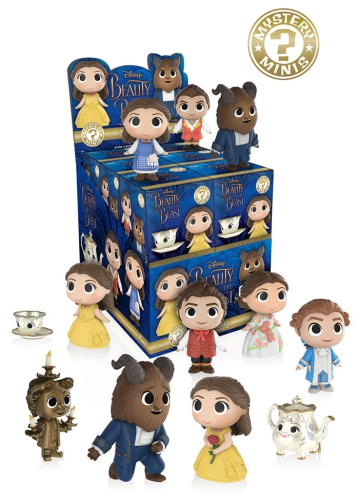 2017 Funko Beauty and the Beast Mystery Minis 1