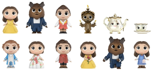 2017 Funko Beauty and the Beast Mystery Minis 2