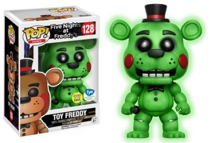Funko Pop Five Nights At Freddy S Checklist Exclusives