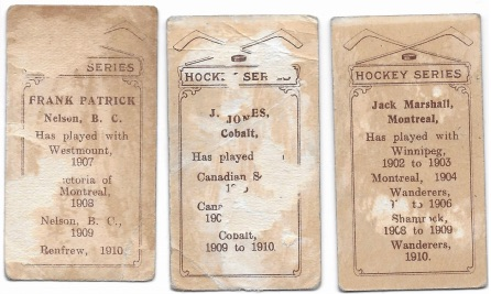 Press Release: Just Collect Uncovers Near-Set of 1910 C56 Hockey Cards 1
