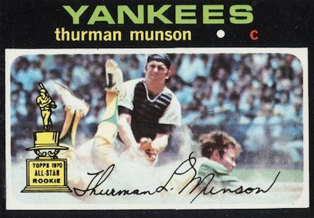 Top 10 Thurman Munson Baseball Cards 12