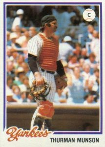 Top 10 Thurman Munson Baseball Cards 7