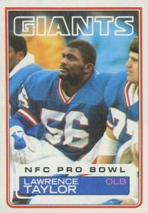 Top 10 Lawrence Taylor Football Cards 9