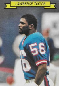 Top 10 Lawrence Taylor Football Cards 8