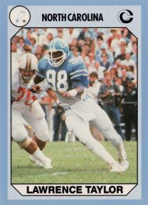 Top 10 Lawrence Taylor Football Cards 1
