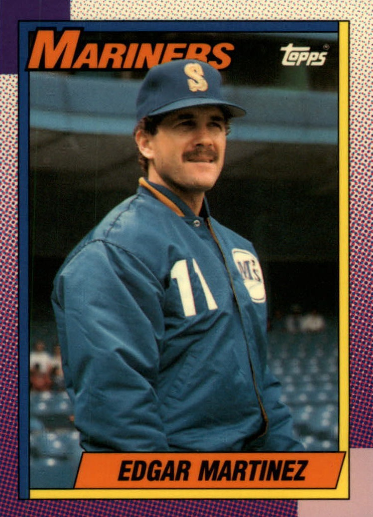 Top Edgar Martinez Baseball Cards Rookies Inserts