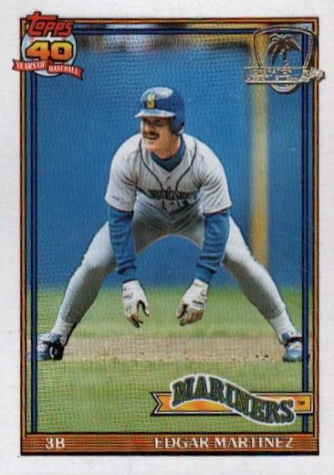 Ed to the Hall! Top 10 Edgar Martinez Baseball Cards 4