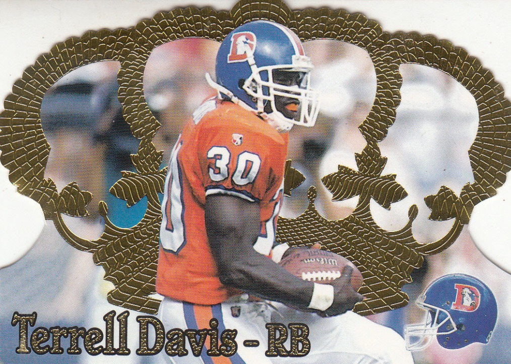 Top 10 Terrell Davis Football Cards 7