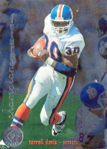 Top 10 Terrell Davis Football Cards 3