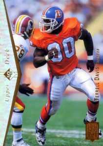 Top 10 Terrell Davis Football Cards