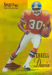 Top 10 Terrell Davis Football Cards 9