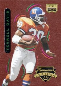 Top 10 Terrell Davis Football Cards 1