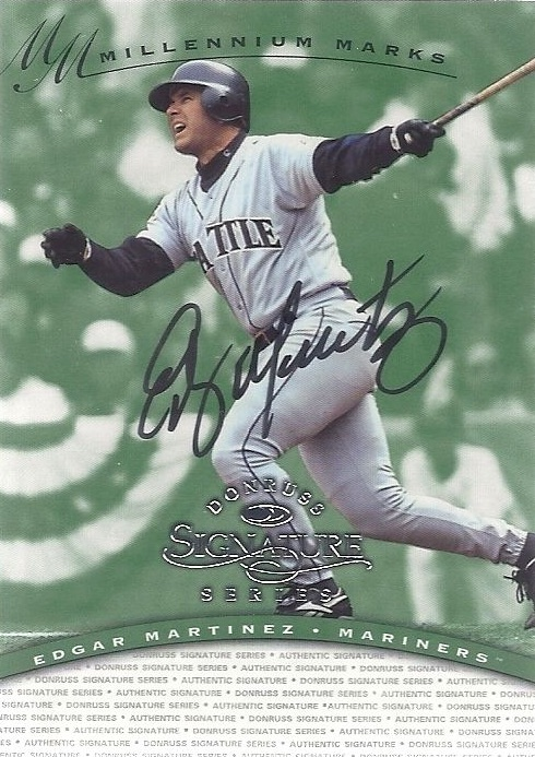 Ed to the Hall! Top 10 Edgar Martinez Baseball Cards 11
