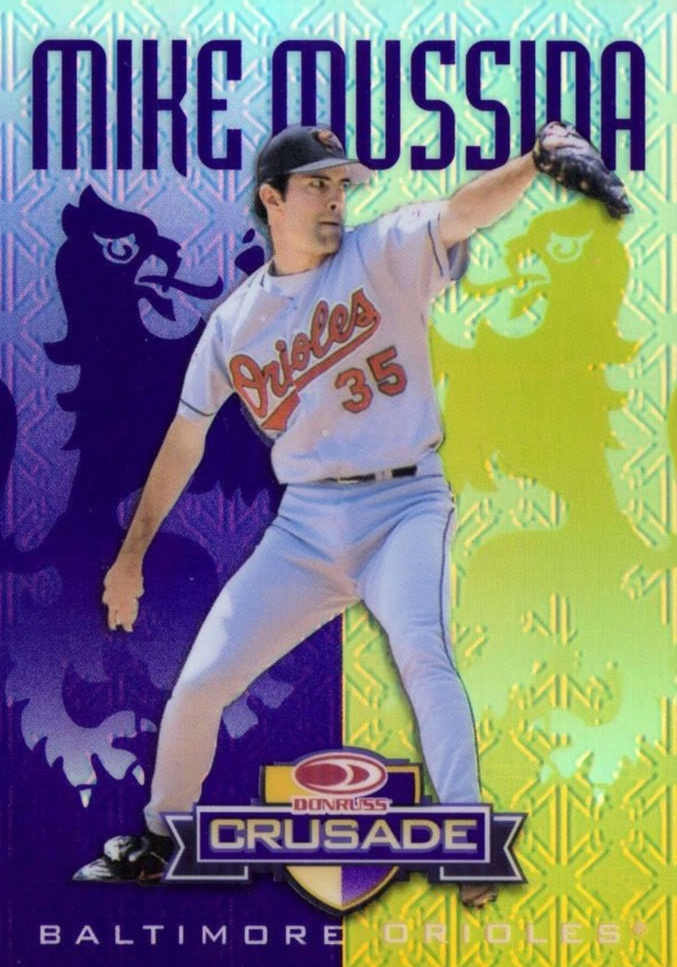 Hall Of Fame Mike Top 10 Mussina Baseball Cards 5