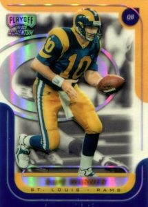 Top 10 Kurt Warner Football Cards 2