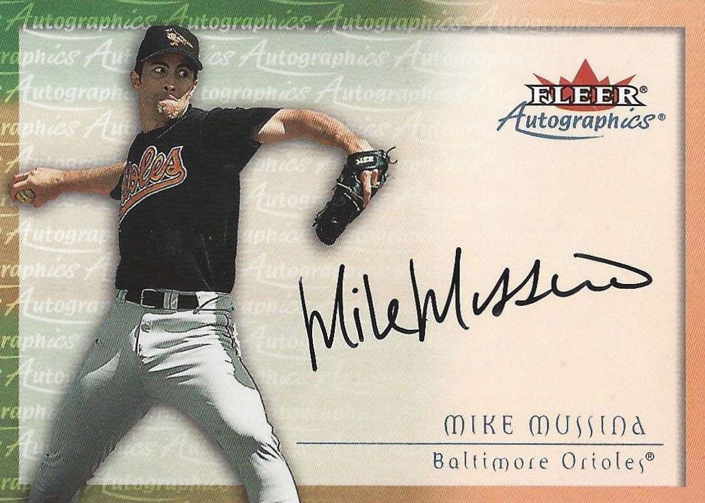 Hall of Fame Mike! Top 10 Mike Mussina Baseball Cards 8