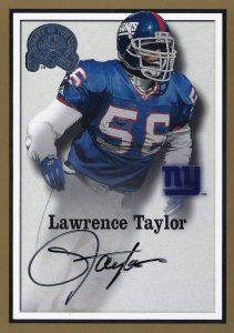 Top 10 Lawrence Taylor Football Cards 10