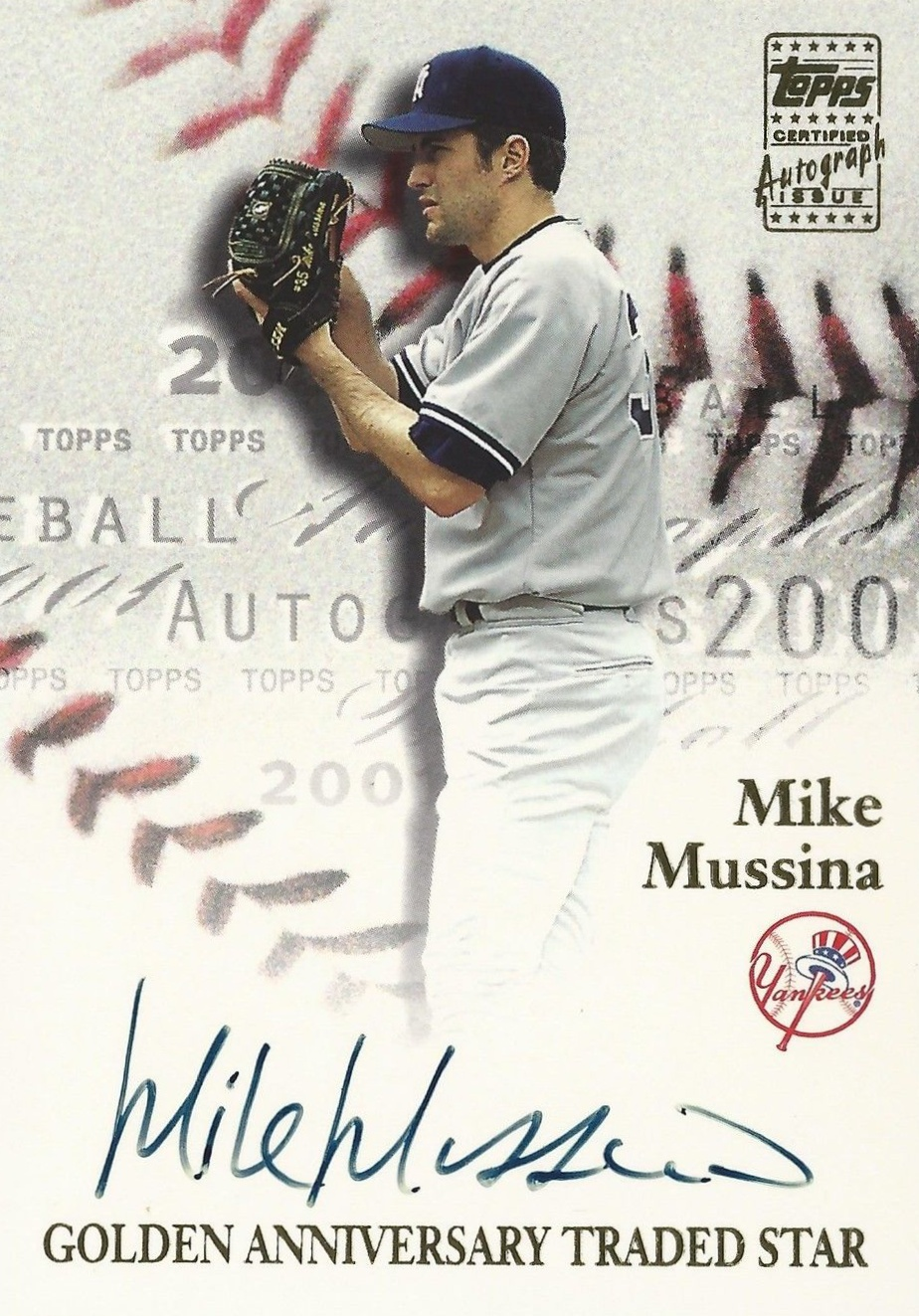Hall of Fame Mike! Top 10 Mike Mussina Baseball Cards 3