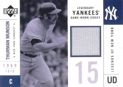 Top 10 Thurman Munson Baseball Cards 9