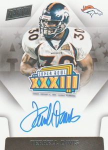 Top 10 Terrell Davis Football Cards 8