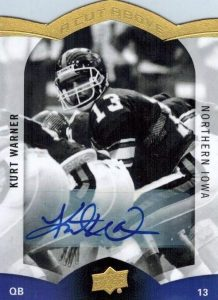 pretty nice 5aeaa 13d37 Top Kurt Warner Cards, Rookie Cards, Autographs, Best Ranked ...