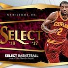 2016-17 Panini Select Basketball Cards