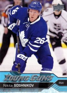 2016-17 Upper Deck Young Guns Checklist and Gallery - Series 2 101