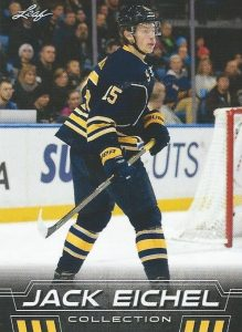 2016 Leaf Jack Eichel Collection Hockey Cards - Basic Checklist Added 20