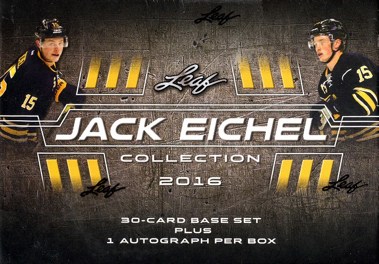 2016 Leaf Jack Eichel Collection Hockey Cards - Basic Checklist Added 1