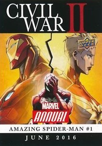 2016 Upper Deck Marvel Annual Trading Cards 24