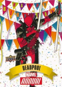 2016 Upper Deck Marvel Annual Trading Cards 25