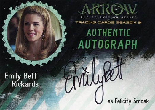 2017 Cryptozoic Arrow Season 3 Trading Cards - Checklist Added 23