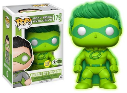2017 Funko Emerald City Comicon Exclusives