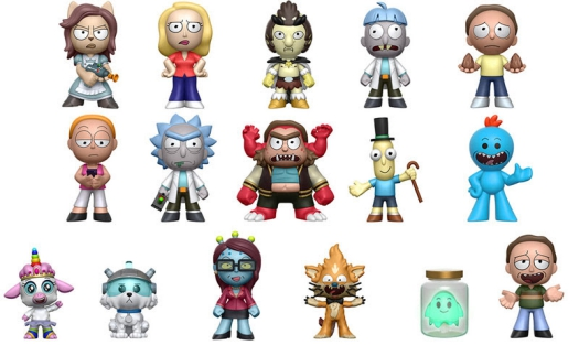 Funko Rick and Morty Mystery Minis