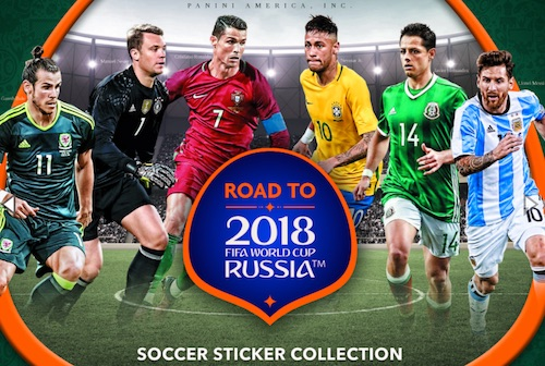 2017 Panini Road to 2018 World Cup Soccer Stickers 3