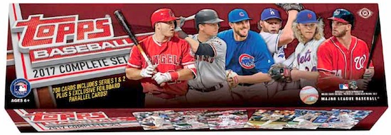 2017 Topps Baseball Complete Set Guide 3