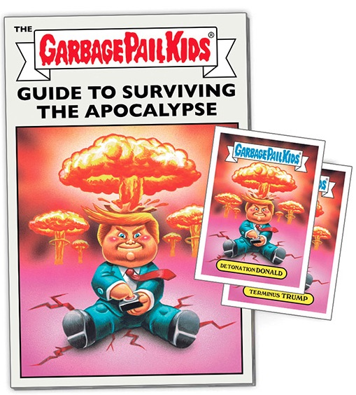 2017 Topps Garbage Pail Kids Comics