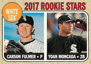 Full 2017 Topps Heritage Baseball Variations Checklist and Gallery 27