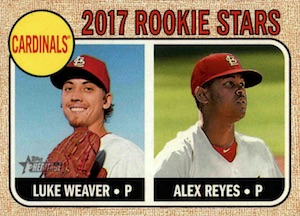 Full 2017 Topps Heritage Baseball Variations Checklist and Gallery 29