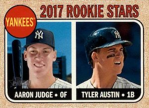 Aaron Judge Rookie Cards Checklist and Key Prospects 58