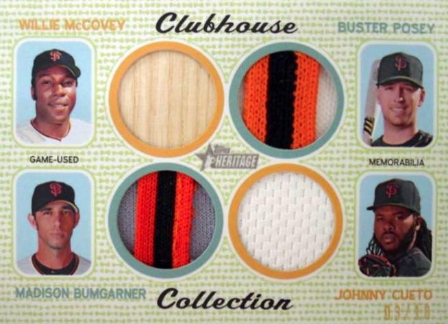 2017 Topps Heritage Baseball Cards 36