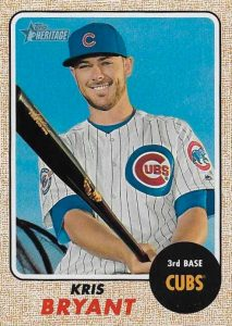 Full 2017 Topps Heritage Baseball Variations Checklist and Gallery 124