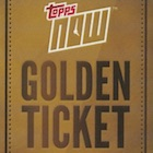 2017 Topps Now Golden Ticket Baseball Cards