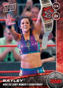 2017 Topps Now WWE Trading Cards 23
