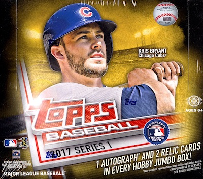 2017 Topps Series 1 Baseball Cards 57