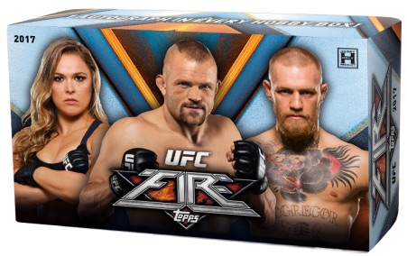 2017 Topps UFC Fire MMA Cards 1
